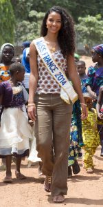 Miss France au Benin