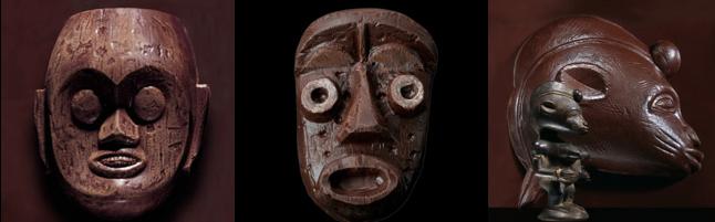 PIERRE HERMÉ : Des masques art premier pour Pâques