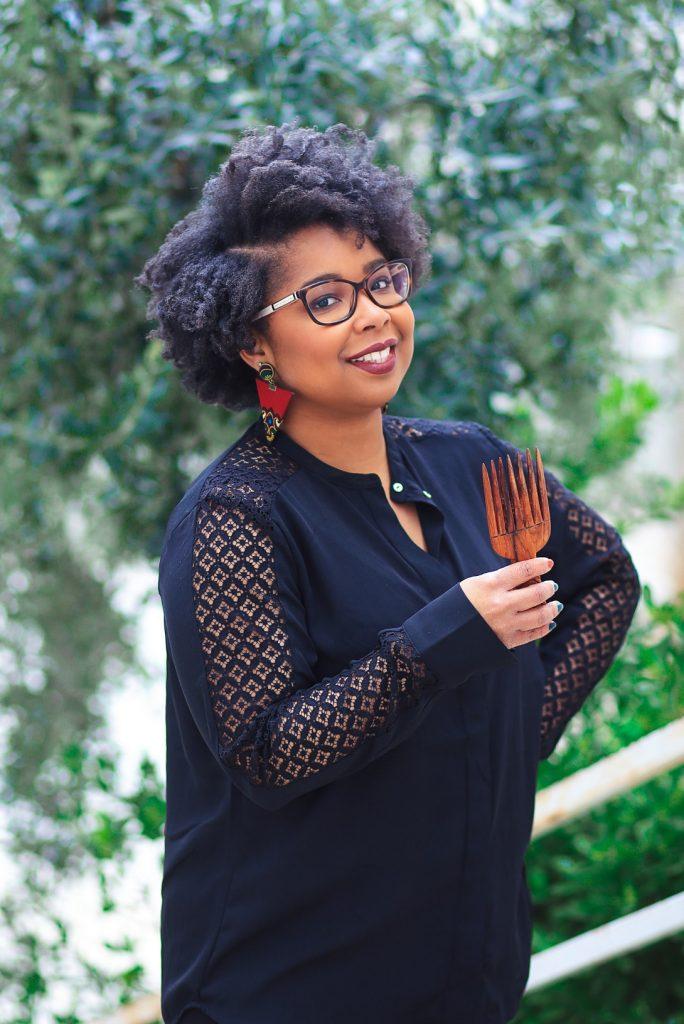 KATHLEEN CHAPIN, sculptrice du cheveu afro