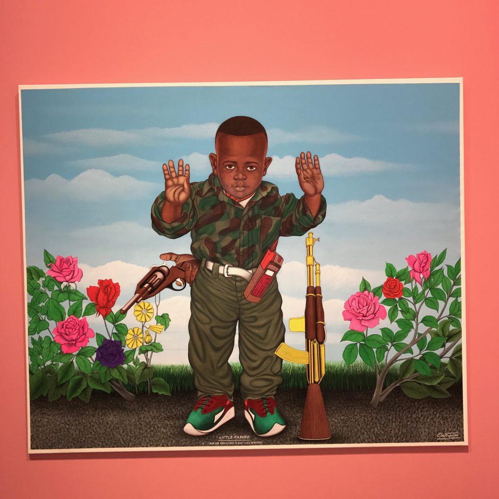 EXPOSITION ART/AFRIQUE par la fondation LOUIS VUITTON