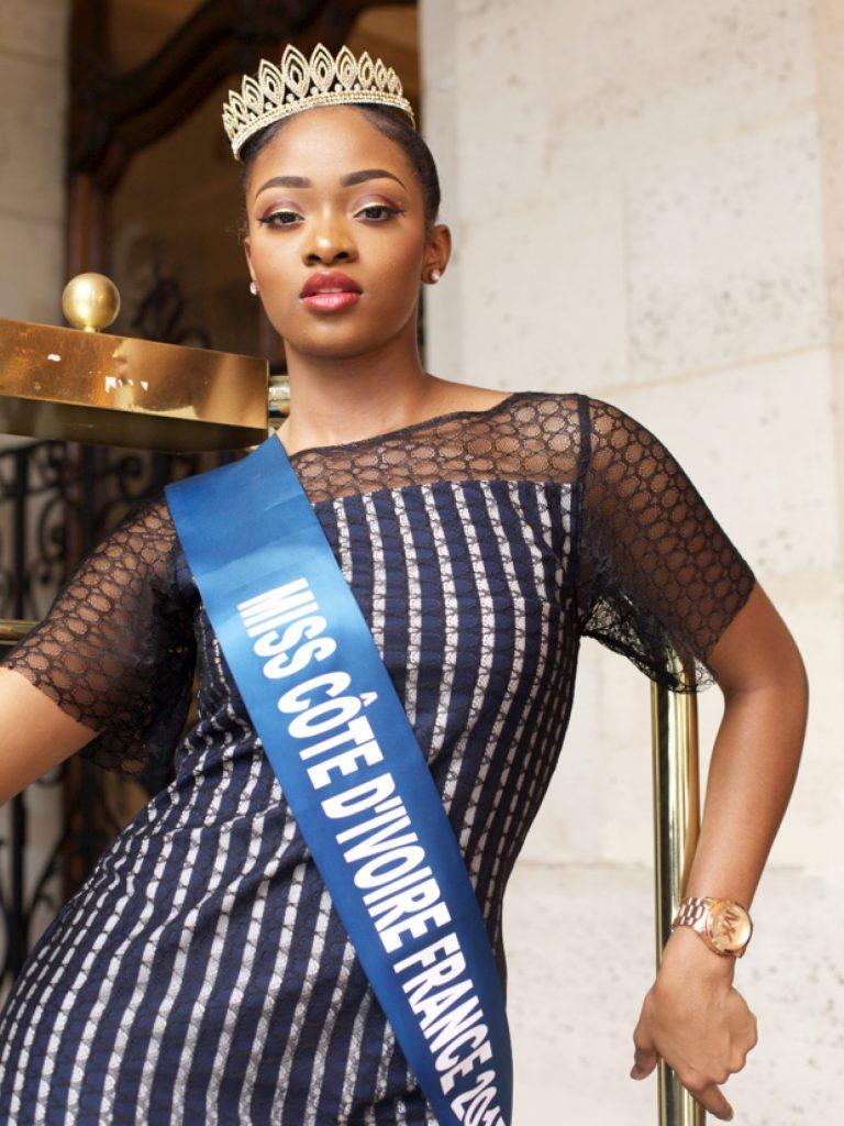 ROSYNE EKRABÉ : Miss Côte d'Ivoire France 2017
