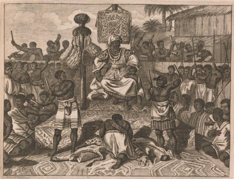 "LES 7 ROYAUMES DE KONGO DIA NLAZA : ""Les 1ers grands marchands de tissus"""