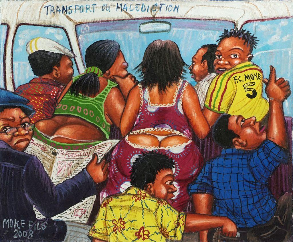 MOKÉ FILS : La vie de Kinshasa… En peinture