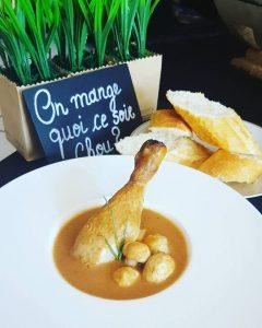 poulet beurre de cacahouete