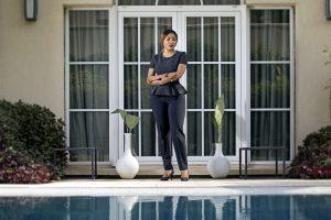 Danielle Sassou Nguesso Piscine
