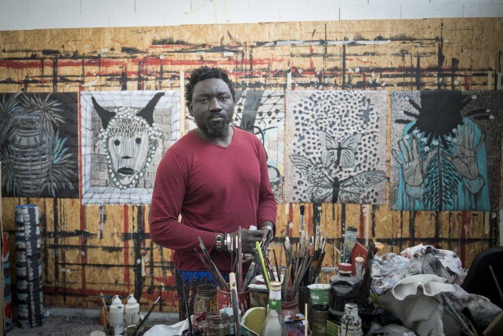 OMAR BA : Un peintre engagé, en pleine ascension !