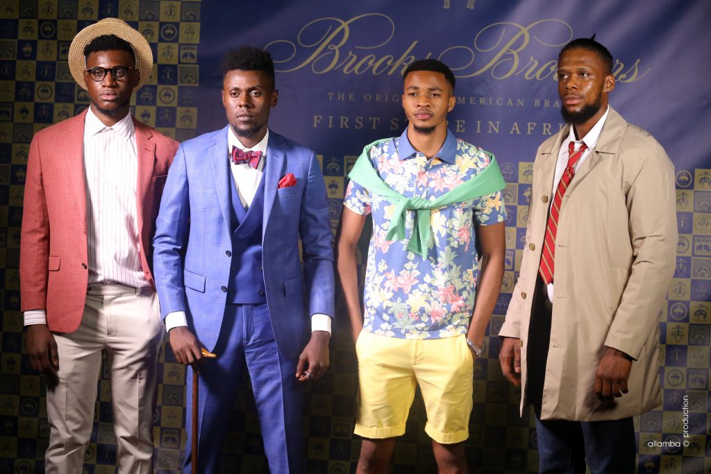 Inauguration BROOKS BROTHERS Brazzaville