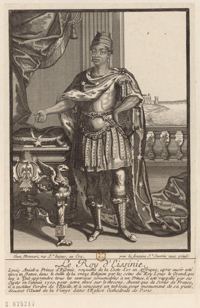 ANIABA D'ASSINIE : Un prince noir à la cour de Louis XIV