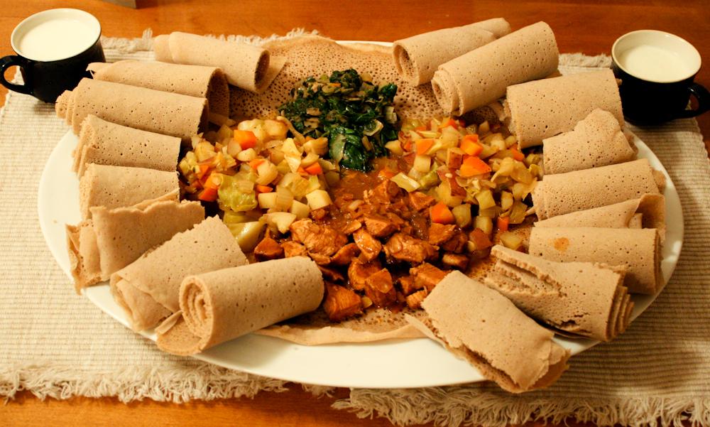 INGERA, la galette éthiopienne