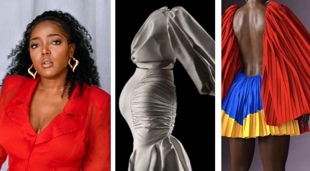 ANIFA MVUEMBA émerveille le monde de la mode avec son défilé sans mannequin
