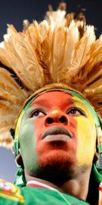 visage drapeau cameroun