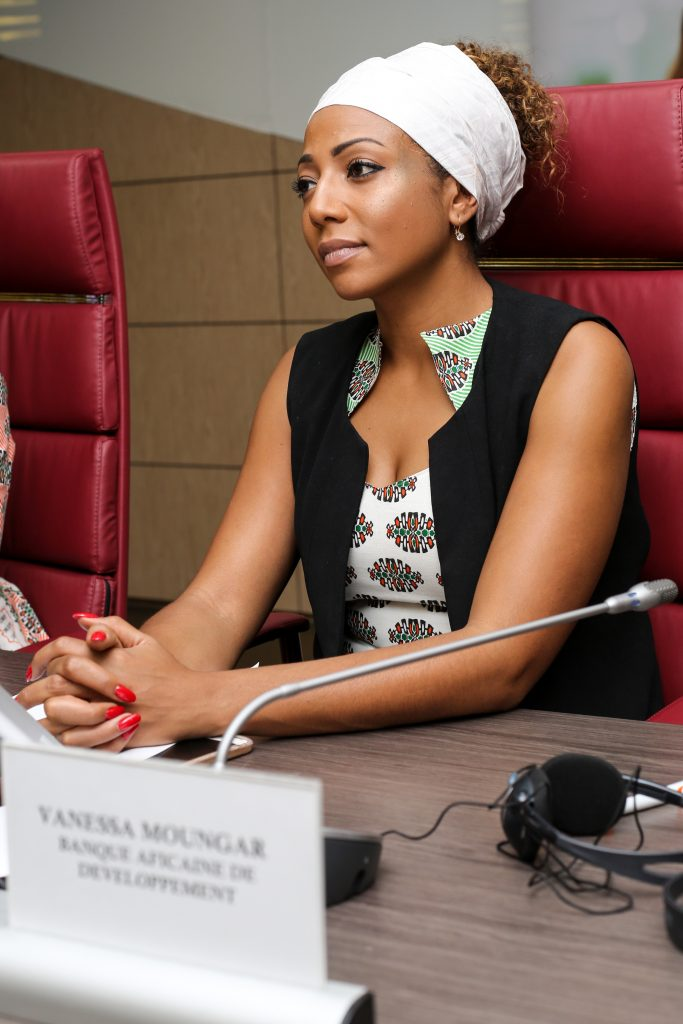 VANESSA MOUNGAR : Directrice du développement Genre, Femmes et Société Civile à la Banque Africaine de Développement